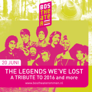 The Legends We've Lost 20 juni 2020 in het Bostheater Ommen